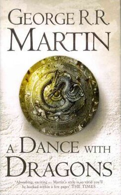 A Song of Ice and Fire. Book 5. A Dance with Dragons - фото книги