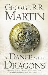 A Song of Ice and Fire. Book 5. A Dance with Dragons - фото обкладинки книги