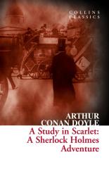 A Study in Scarlet: A Sherlock Holmes Adventure - фото обкладинки книги