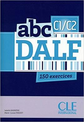 ABC DALF C1/C2, Livre + Mp3 CD + corrigs et transcriptions (підручник+аудіодиск) - фото книги