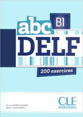 ABC DELF B1, Livre + Mp3 CD + corrigs et transcriptions (підручник+аудіодиск) - фото обкладинки книги
