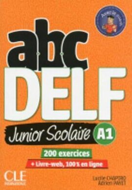 ABC DELF Junior : Livre de l'eleve A1 + DVD + Livre-web - 2eme edition - фото книги