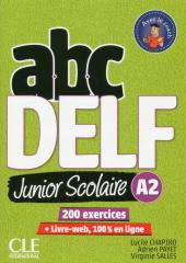 ABC DELF Junior : Livre de l'eleve A2 + DVD + Livre-web - 2eme edition - фото обкладинки книги