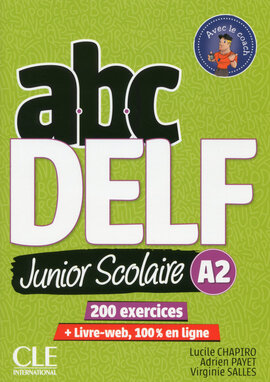 ABC DELF Junior : Livre de l'eleve A2 + DVD + Livre-web - 2eme edition - фото книги