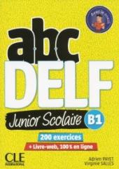 ABC DELF Junior : Livre de l'eleve B1 + DVD + Livre-web - фото обкладинки книги