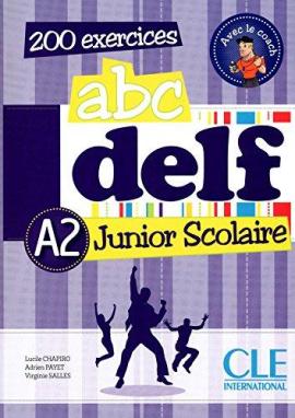 ABC DELF Junior scolaire A2 Livre+DVD-ROM+corriges et transcriptions (підручник+аудіодиск) - фото книги