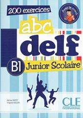 ABC DELF Junior scolaire B1 Livre + DVD-ROM+corriges et transcript (підручник+аудіодиск) - фото обкладинки книги