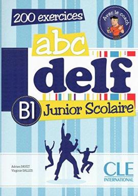 ABC DELF Junior scolaire B1 Livre + DVD-ROM+corriges et transcript (підручник+аудіодиск) - фото книги