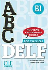ABC DELF : Livre B1 + CD + Entrainement en ligne - фото обкладинки книги
