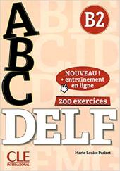 ABC DELF : Livre B2 + CD + Entrainement en ligne - фото обкладинки книги