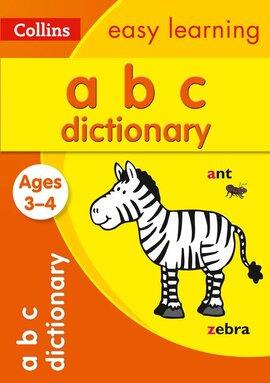 Посібник ABC Dictionary Ages 3-4