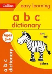 ABC Dictionary. Ages 3-4 - фото обкладинки книги