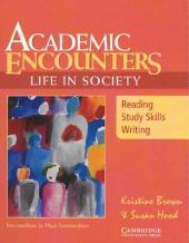 Academic Encounters: Life in Society Student's Book: Reading, Study Skills, and Writing - фото обкладинки книги
