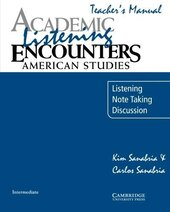 Academic Listening Encounters: American Studies Teacher's Manual : Listening, Note Taking, and Discussion - фото обкладинки книги