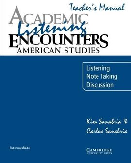 Academic Listening Encounters: American Studies Teacher's Manual : Listening, Note Taking, and Discussion - фото книги