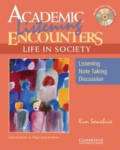 Academic Listening Encounters: Life in Society Student's Book with Audio CD: Listening, Note Taking, and Discussion - фото обкладинки книги