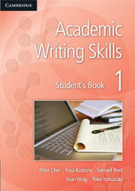 Робочий зошит Academic Writing Skills 1 Student's Book
