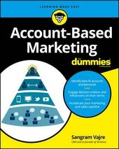 Account-Based Marketing For Dummies - фото обкладинки книги
