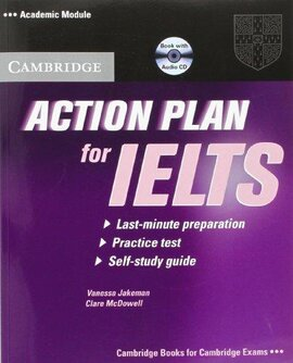 Action Plan for IELTS Academic Module Students Book+СD (підручник+аудіодиск) - фото книги