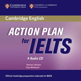 Аудіодиск Action Plan for IELTS Audio CD