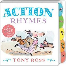 Action Rhymes (My Favourite Nursery Rhymes Board Book) - фото книги