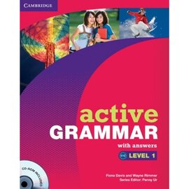 Active Grammar Level 1 Book with answers and CD-ROM (підручник+аудіодиск) - фото книги