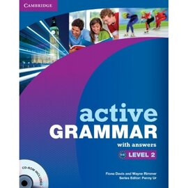 Active Grammar Level 2 Book with answers and CD-ROM (підручник+аудіодиск) - фото книги