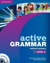Active Grammar Level 2 Book without answers and CD-ROM (підручник+аудіодиск) - фото обкладинки книги