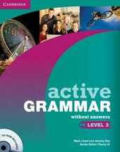Active Grammar Level 3 Book without answers and CD-ROM (підручник+аудіодиск) - фото обкладинки книги