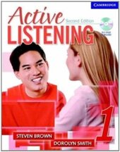 Active Listening 1 Student's Book with Self-study Audio CD - фото обкладинки книги
