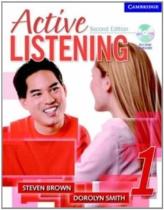 Посібник Active Listening 1 Student's Book with Self-study Audio CD