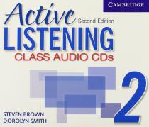 Робочий зошит Active Listening 2 Class Audio CDs