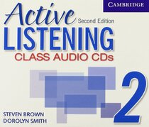 Книга для вчителя Active Listening 2 Class Audio CDs