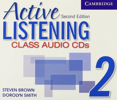 Аудіодиск Active Listening 2 Class Audio CDs