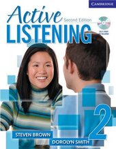 Active Listening 2 Student's Book with Self-study Audio CD - фото обкладинки книги
