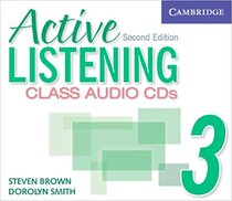 Робочий зошит Active Listening 3 Class Audio CDs