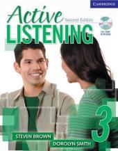 Active Listening 3 Student's Book with Self-study Audio CD - фото обкладинки книги