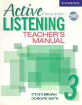 Книга для вчителя Active Listening 3 Teacher's Manual with Audio CD