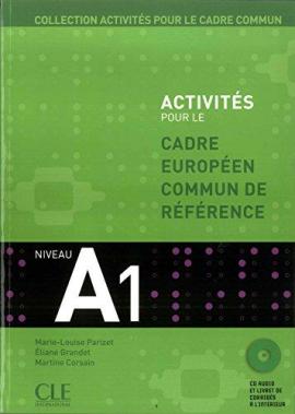 Activites pour le Cadre commun A1 Livre+CD (підручник+аудіодиск) - фото книги