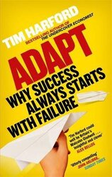Adapt : Why Success Always Starts with Failure - фото обкладинки книги