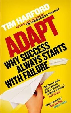 Adapt : Why Success Always Starts with Failure - фото книги