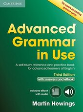 Advanced Grammar in Use 3rd Edition Book with Answers and Interactive eBook (підручник) - фото обкладинки книги