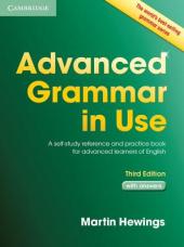 Advanced Grammar in Use 3rd Edition Book with answers (підручник) - фото обкладинки книги