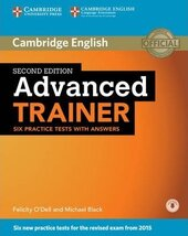 Advanced Trainer Six Practice Tests with Answers with Audio - фото обкладинки книги