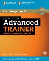 Advanced Trainer Six Practice Tests with Answers with Audio - фото обкладинки книги