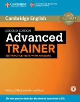 Робочий зошит Advanced Trainer Six Practice Tests with Answers with Audio