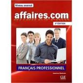 Affaires.com Niveau avance (підручник+аудіодиск) - фото обкладинки книги
