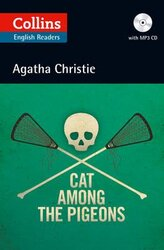 Agatha Christie's B2. Cat Among the Pigeons with Audio CD - фото обкладинки книги