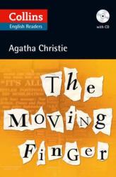 Agatha Christie's B2. Moving Finger with Audio CD - фото обкладинки книги