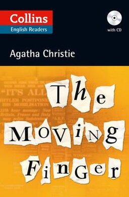 Agatha Christie's B2. Moving Finger with Audio CD - фото книги